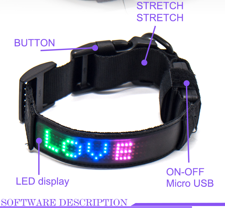 Pet-Training-Light-Strip-Appcontrol-LED-Collar-for-Dog-Pieces