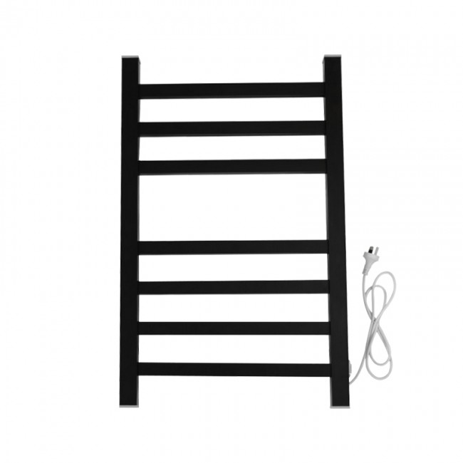EV-130 Bathroom Ladder Aluminum Electric Towel Rack Wall Mounted Heated Towel Rail