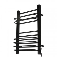 EV-200-1 Bathroom Ladder Aluminum Electric Towel Rack Wall Mounted Heated Towel Rail