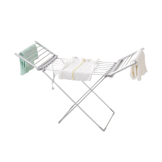 EV-230 Household Aluminum Grey Oxidized Heated Clothes Airer Folding Electric Clothes Dryer