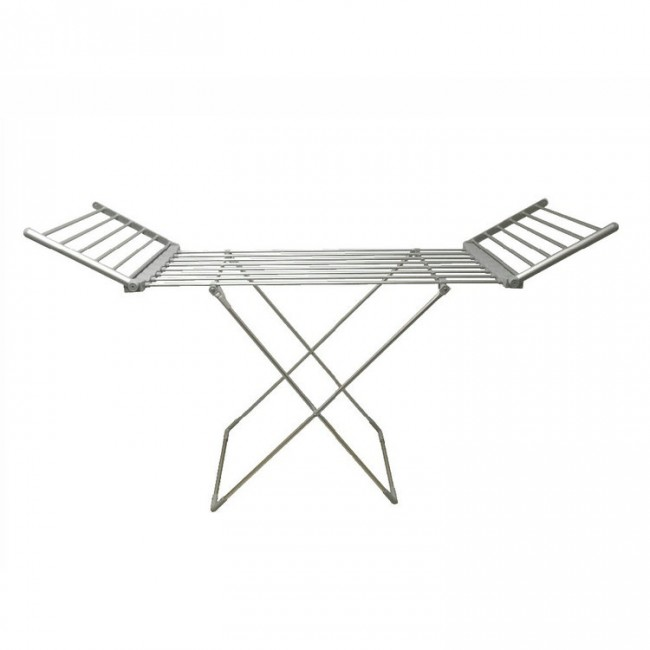 EV-260 Household Aluminum Grey Oxidized Heated Clothes Airer Folding Electric Clothes Dryer