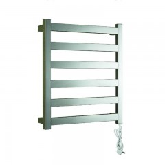 EV-S6 Bathroom Ladder Heated Towel Rail Wall Mounted Electric Stainless Steel Towel Warmer