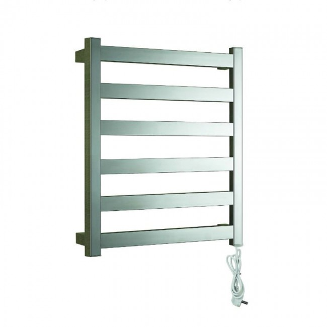 EV-S6 Bathroom Ladder Heated Towel Rail Wall Mounted Electric Stainless Steel Towel Warmer