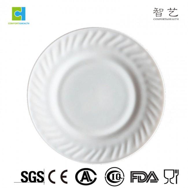 "CHHP70/80/90/100 stamping opal glass dinner plate flat plate 7"" 8"" 9"" 10"""