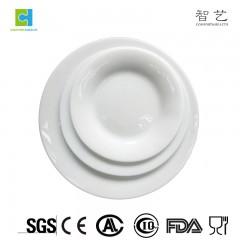 """CHLFBP70 / 80/90/100/110 spinnende opal glass middagstallerken flat plate 7 """"8"""" 9 """"10"""" 11 """""""