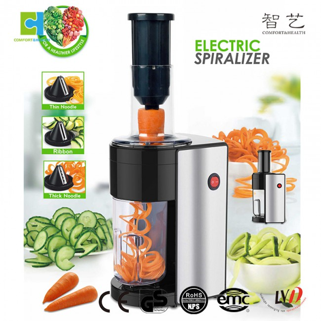 CH810 stainless steel vegetable spiral slicer