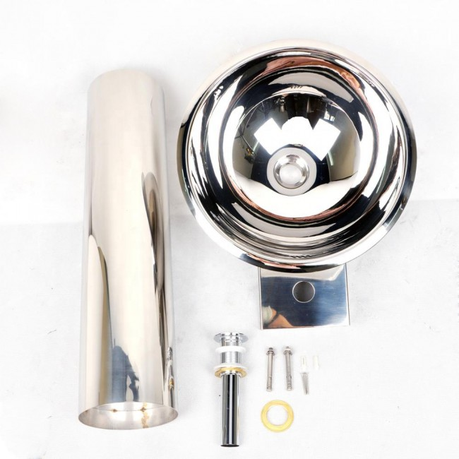 Stainless Steel Floor Standing Wash Basin With Stand Factory Price