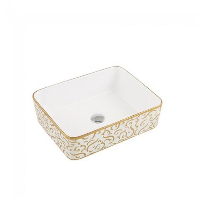 Bathroom Gold Color Good Price Wash Basin