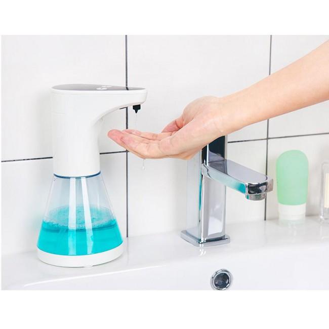 2019 Homedec Touchless Soap Liquid Dispenser Plastic Hands Free Automatic IR Sensor Soap Dispenser