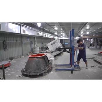 SM-8514 Modern Stone Sink, dual pressure New indoor Pedestal Wash Basin