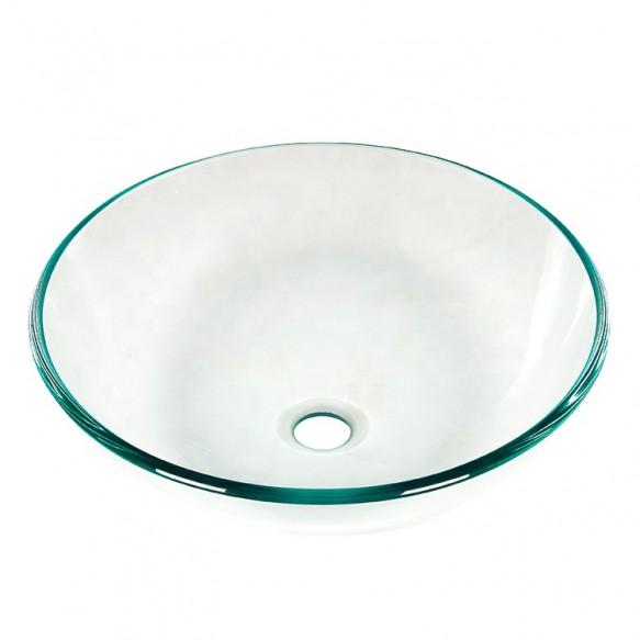 Stock Products Glass Vanity Bowls Bathroom Sinks Wash Basin