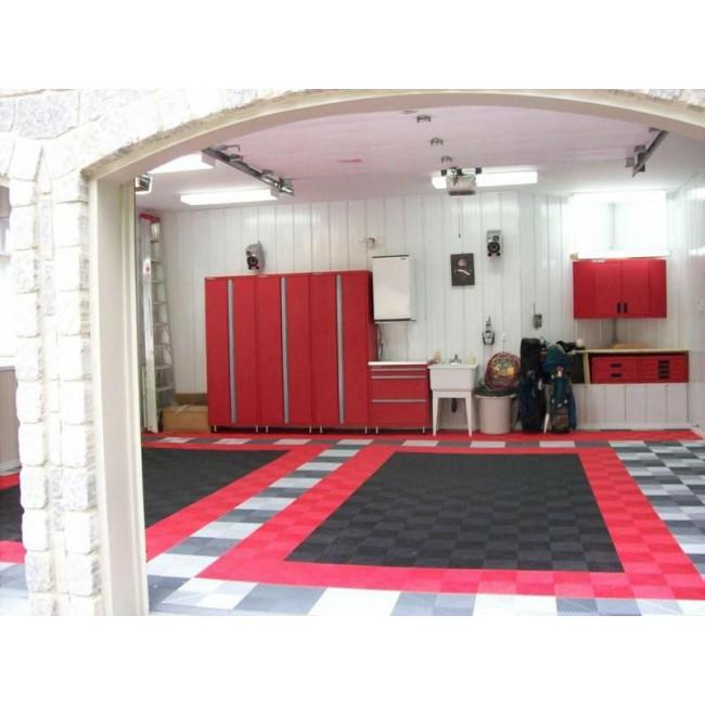 PP plastic garage interlocking floor