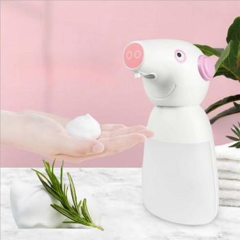 Battery Foaming Soap Dispenser 330ml Hand Free Countertop Soap Dispensers Automatic Foaming Soap Pump For Kids Bathroom Kitchen