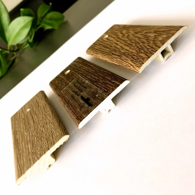 Waterproof vinyl pvc moulding trims t molding flooring accessories