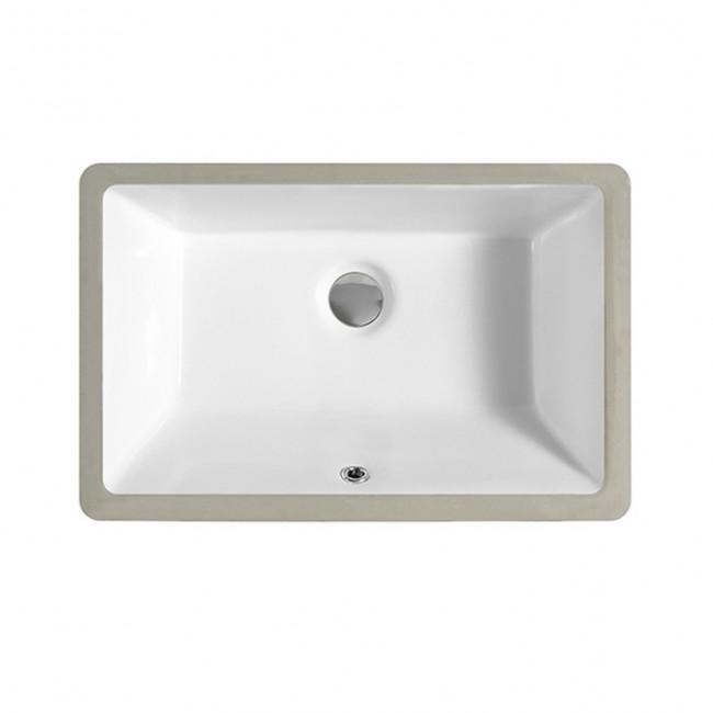1812 Export America Standard Rectangular Ceramic Undermounted Vanity Wash Basin Sink for Bathroom