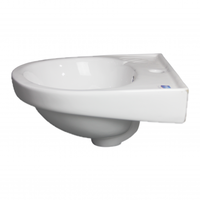 Low Price Round Ceramic Sanitary Ware BathroomWall Small Hung Wash Basin