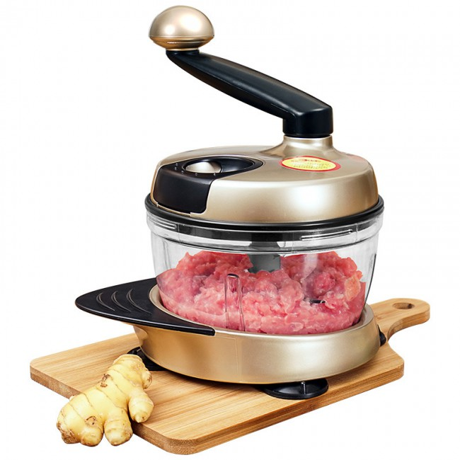 Powerful multifunctional stainless steel stainless steel processor processor machine easy installation of manual meat chopper cutting machine
