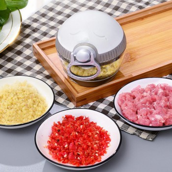 Multifunctional hand hand pulling meat chopper vegetables food processor shredding fruit meat MINI chopper kitchen tools