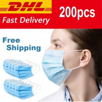 50/100/250/550 PCS Disposable dust mask 3-layer dust mask