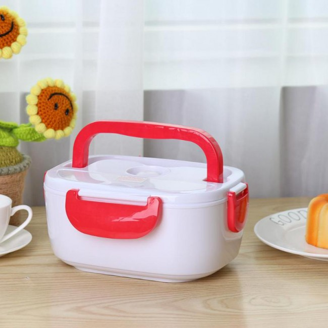 Electric heating lunch box with automatic car food container food container food container food container for school office dishes at home