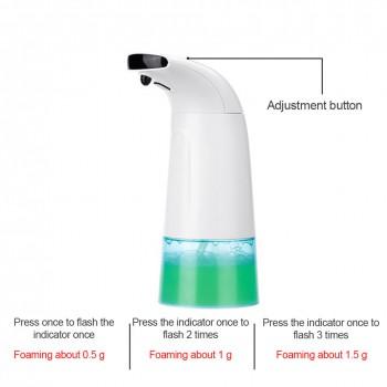 250ml Automatic Waterproof Foam Liquid Automatic Soap Dispenser Wall Infrared Sensor Touchless Hand Washer Soap Dispenser Pump
