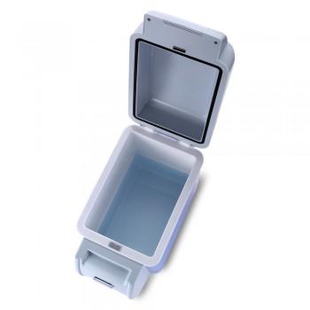 Dual-Use 7.5L Home Car Use Refrigerators Mini Portable Refrigerators Freezer Multi-Function Cooling Warmer Box Auto Compressor