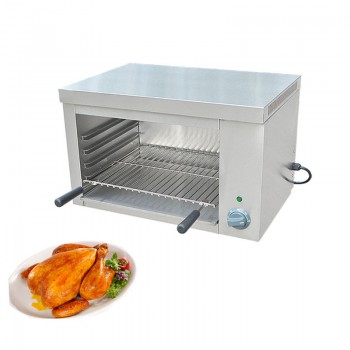 Jamielin Commercial Grill Freestanding Wall Grill Electric Salamander Electric Oven 2000W Chicken Roaster