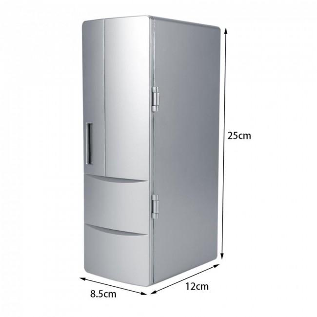 PC Fridge Cooler PC Refrigerator Warmer Cooler Beverage Drink Freezer New