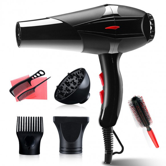 100-240V Professional 3200W Hair Dryer Strong Power Barber Salon Styling Tools Hot/Cold Air Blow Dryer With 2 Speed Adjustment