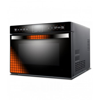 Intelligent Touch LCD Screen Inverter Microwave Oven 900W Fast Heating Energy Saving 25L Stainless Steel Liner Convection Oven