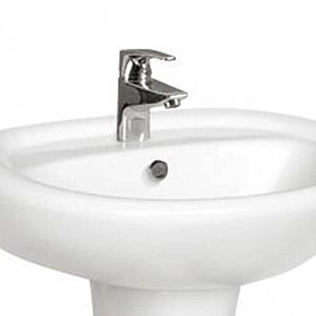 Bathroom hot sale ceramic sanitary ware pedestal wash basin 408
