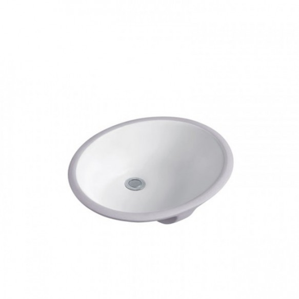 Solid surface under counter ceramic hand wash basin