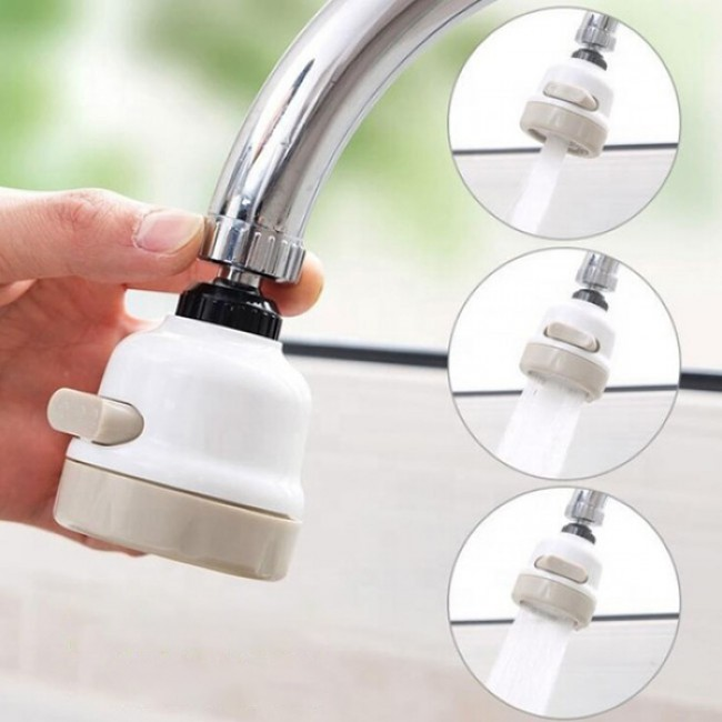 Moveable Kitchen Tap Head Universal 360 Degree Rotatable Faucet Water Saving Filter Sprayer