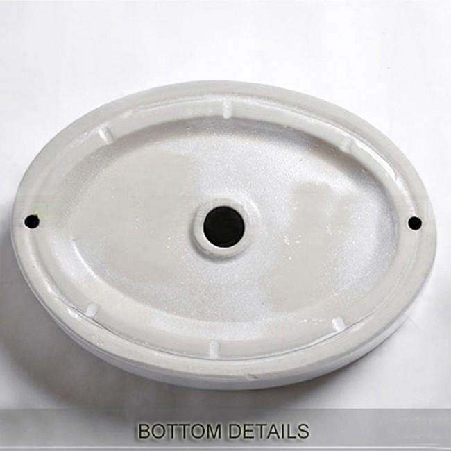 Modern design KD-03AB bathroom ceramic hand wash basin counter top wash sink