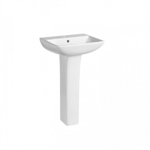 Cheap price modern wash basin with pedestal sanitary ware ceramic bathroom sink wash basin pedestal
