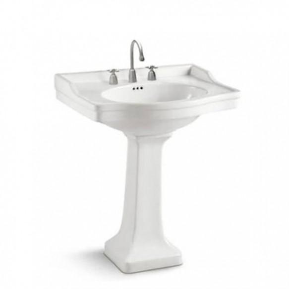 Bathroom fancy america standard sanitary ware wash hand pedestal basin