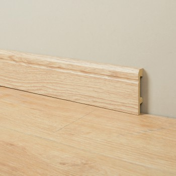 Quick Install Matching Floor wood and white color Waterproof Plastic Baseboard Cornice Skirting Board Moulding