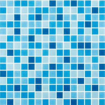 Swimming Pool Blue Non-Slip Glass Mosaic Tile For Toilet Shower Floor Background Wall FREE SHIPPING