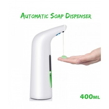 400ML Automatic Infrared Induction Soap Dispenser Intelligent Sensor Touchless Auto Foam Hand Washing Home Office Bathroom Wash