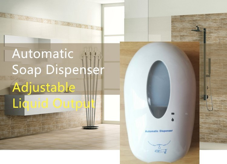 1000ML-Hotel-Touchless-Automatic-Free-Hand-Sanitizer-Liquid-Foam-Soap-Dispenser-With-Large-Capacity-Tank-For-School-And-Hospital-Pieces
