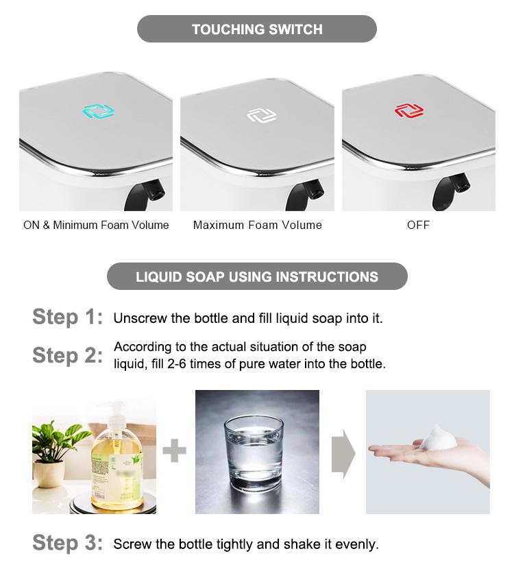 ABS-Plastic-Auto-Hand-Foam-Soap-Dispenser-Classic-Touchless-Soap-Dispenser-MSH-001