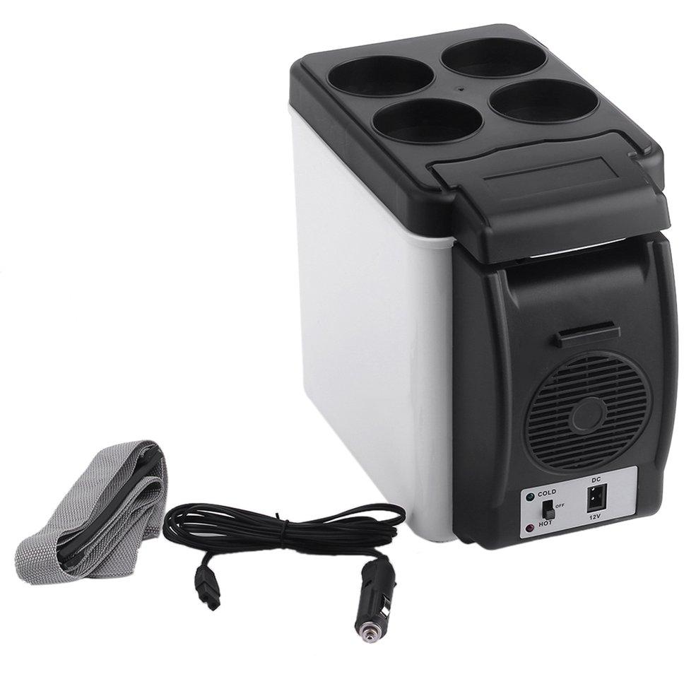 camping-home-Mini-Size-12V-Car-Small-Refrigerator-Mini-Fridge-Cooler-Warmer-Enough-Capacity-6L-White-No-Need-for-Refrigerants-33008872373