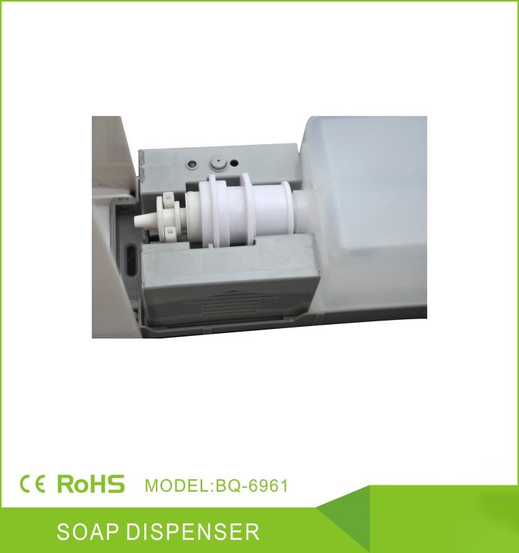 China-Suppliers-Touchless-Battery-Adapter-Automatic-Plastic-Foam-Soap-Dispenser-With-Liquid-Tank-BQ-6961