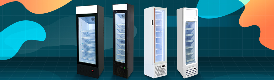 meisda hot sale commercial upright freezer combo beverage display manufacturer