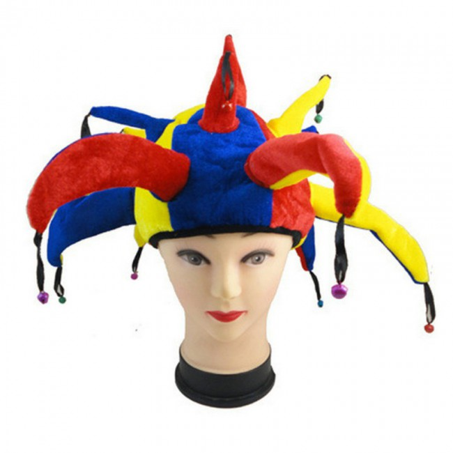 Halloween Masquerade Decoration Carnival Funny Party Costume Cosplay Clown Hat for Adult Child