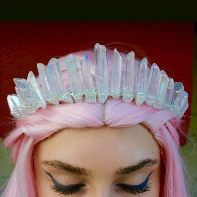 Wedding Hair Accessories Tiaras for Women Headdress Crystal diadem Big Crowns party decoration tiara