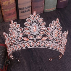 Women Wedding Bridal Tiaras Princess Crystal Prom Hair Crown Rhinestone Fashion Headband Hair Accessories Headpiece
