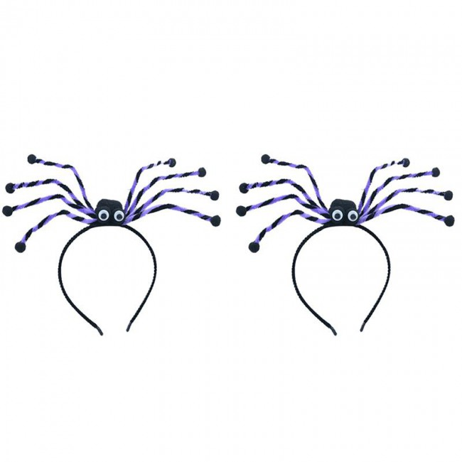 Halloween Headband Toy Creative Spider Hair Hoop Creative Party Headdress