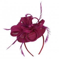 Accessories Handmade Women's Hair Clip Feather Wedding Casual Headpieces New Fashion Design Party Headdress Hot Selling