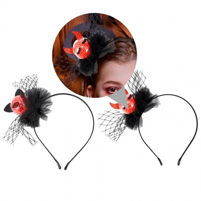 Creative Fashionable Halloween Party Cosplay Hairband Hair Hoop Headdress Party Accessories For Adults Kids Children